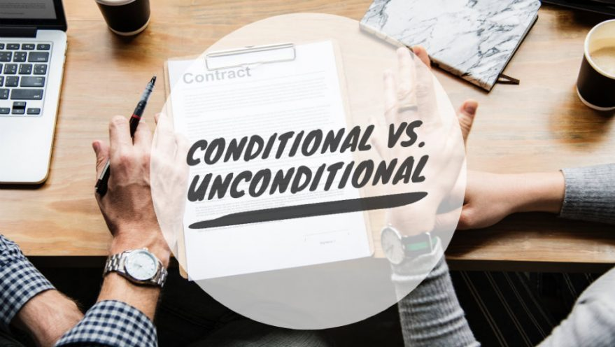 conditional vs unconditional