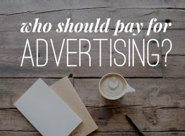 Who should pay for real estate advertising