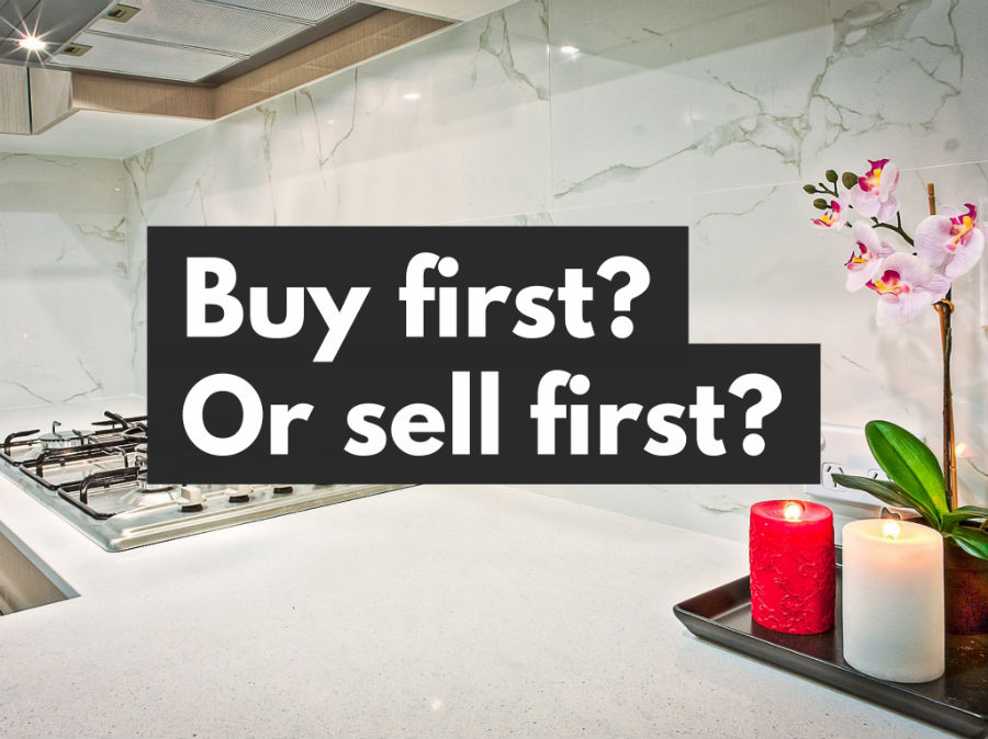 Buy first? Or sell first?
